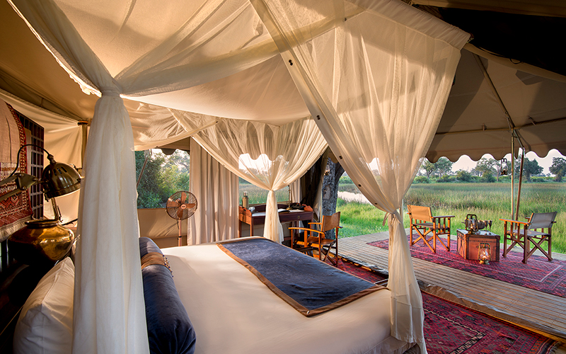 Our rooms offer guests the ultimate opportunity for private sightings