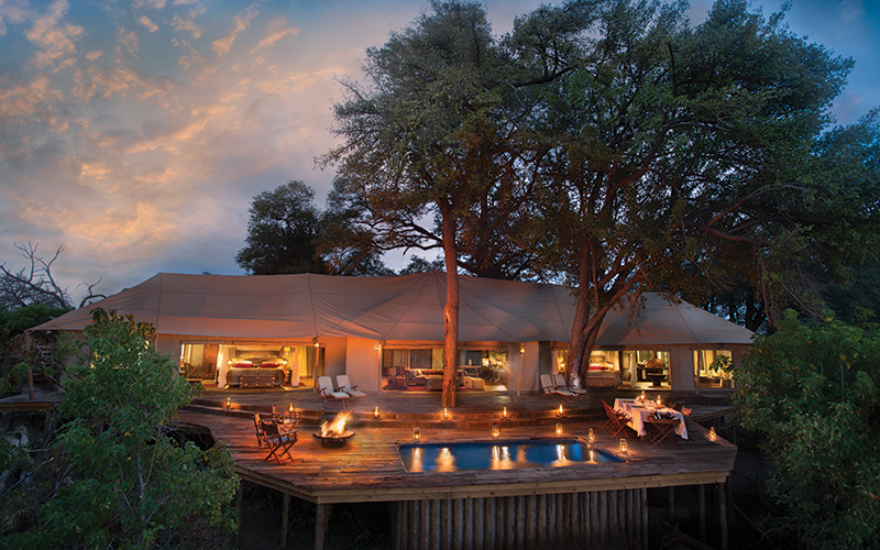 Zarafa Dhow Suites - understated opulence in one of Africa's last great wildernesses