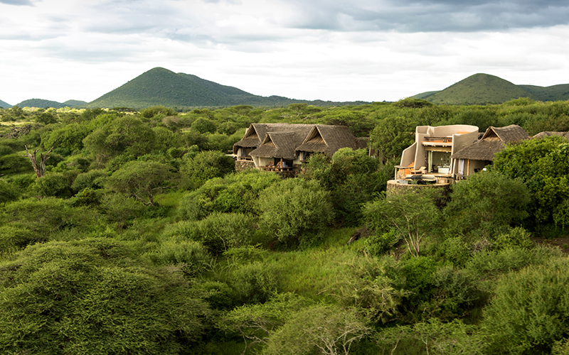 Wedged between Kenyas Tsavo East and Amboseli National Parks in the heart of the Chyulu Hills, this is a place of timeless wild beauty presided over by the magnificent summit of Africa's greatest icon – Mount Kilimanjaro