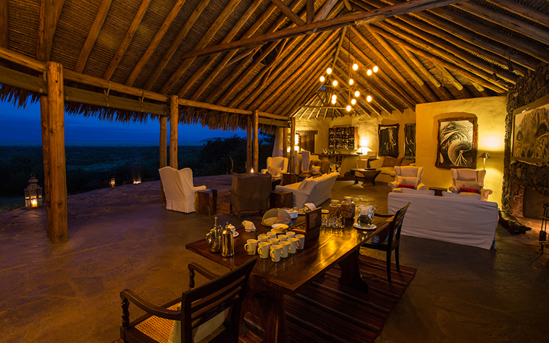 ol Donyo Lodge blends contemporary design with the rich culture and history of the people of this area