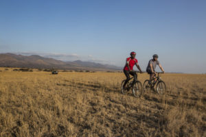 Cycling at ol Donyo